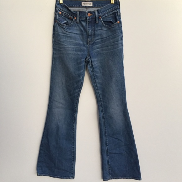 Madewell Denim - Madewell Flea Market Flare Wide Leg Jeans Blue 26
